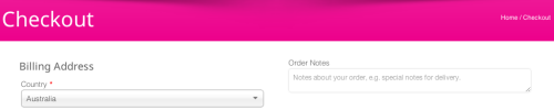 """""""Order Notes"""""""